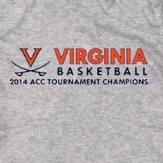 UVA Cavaliers Basketball ACC Champions