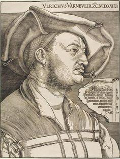 Albrecht Durer - Ulrich Varnbuler, 1522.