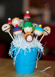 South Park Cake Pops