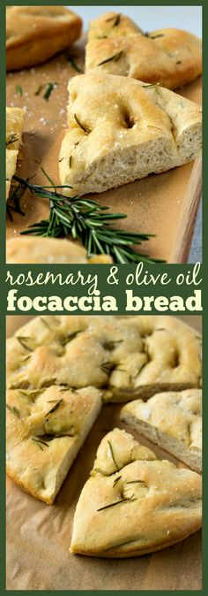 Rosemary & Olive Oil Focaccia Bread – Incredibly fluffy and flavorful focaccia bread that comes together in less than 2 hours, from start to finish. #recipe #bread #focaccia #rosemary #oliveoil #appetizer