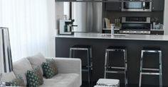 Suzie: Toronto Interior Design Group - Modern contemporary open living space with light gray ... via JJ W - http://ift.tt/1Tm5MXj
