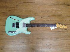 New Fender '72 Pawn Shop Stratocaster Strat Surf Green Electric Guitar   eBay