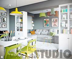 projekt mieszkania w wiosennych kolorach - zdjęcie od MIKOŁAJSKAstudio - Salon - Styl Nowoczesny - MIKOŁAJSKAstudio Gallery Wall, Frame, Home Decor, Living Room, Picture Frame, Decoration Home, Room Decor, Frames, Home Interior Design