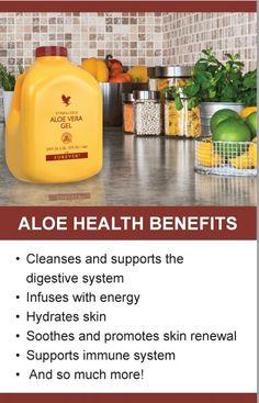 Aloe Health Benefits. #Aloe #HealthBenefits for further details please go to www.joytasker.myforever.biz/store.