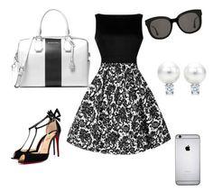 """""""Untitled #39"""" by rgz-m on Polyvore featuring Christian Louboutin, MICHAEL Michael Kors and Gentle Monster"""