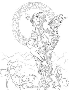 mythica sword sorcery pinterest search - Coloring Pages Dragons Fairies