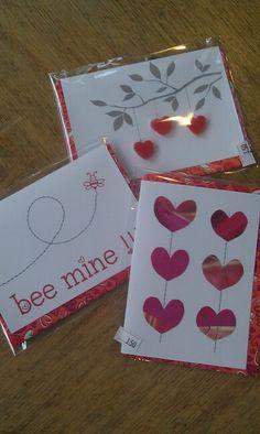 Nog meer nieuwe kaarten voor Valentijn.