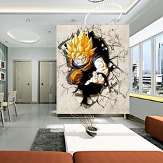 Image result for Anime wall deco