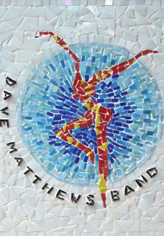 Firedancer mosaic... totally would do this  in a bathroom/kitchen in my future house