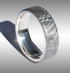 Meteorite Ring Wedding Band Anium Mens Galaxy Jewelry Presents For Him Pinterest Gibeon