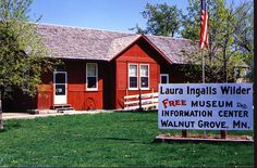 Visit the Laura Ingalls Wilder Museum, Walnut Grove, MN. and all the places she wrote about in her books.