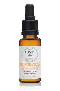 DEPENDANCES (elixir composé) : Pour ceux qui déplorent leurs manies et habitudes nocives.