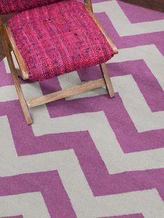 One Kings Lane - Shades of Style - Alvin Flat-Weave Rug, Pink Mood Fabrics, Contemporary Rugs, Throw Rugs, Animal Print Rug, Chevron, Area Rugs, Interior Design, Kings Lane, Showroom
