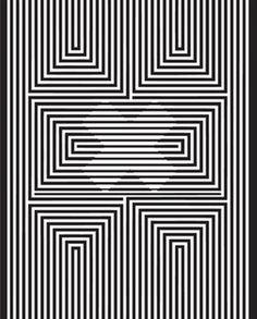 Optischeillusiesblogspotnl 2014 09 Optische Op ArtOptical IllusionsSaltFractalsZentanglesWhite