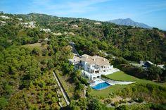 Aerial drone photography by Sky Shooters. Villa La Zagaleta, Marbella