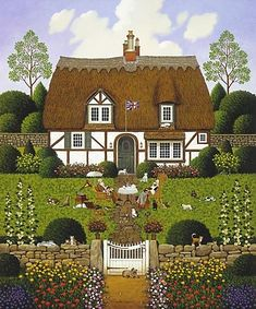 Bach's Magnificat in D Minor by Charles Wysocki