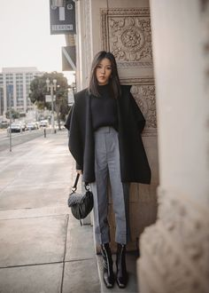 Winter Fashion Outfits, Fall Winter Outfits, Autumn Winter Fashion, Winter Layering Outfits, Outfits Inspiration, Style Inspiration, Looks Style, Looks Cool, Classy Outfits