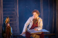 Production Shot: Helena Lymbery (Dr Livesey). #NationalTheatreLive's#TreasureIsland comes to Riverside's Big Screen 14 - 15 February. #RiversideScreen