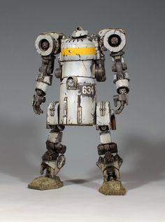 White on black weathering. Steampunk Mechanic, Steampunk Robots, Arte Robot, Robot Art, Wizard Of Oz Characters, Robot Technology, Technology Gadgets, Nostalgic Art, Retro Robot