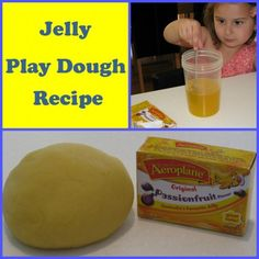 Jelly Play Dough Recipe is an easy play dough to make and by adding some jelly crystals to a basic play dough recipe creates a smooth, soft and creamy