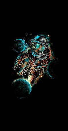 Uma imagem vale mais que mil palavras! Graffiti Wallpaper, Wallpaper Space, Dark Wallpaper, Galaxy Wallpaper, Wallpaper Backgrounds, Iphone Wallpaper, Space Drawings, Space Artwork, Colorful Artwork