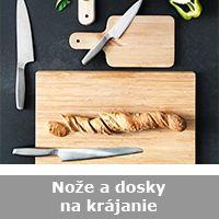 Nože a dosky na krájanie