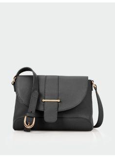 94ad486538af Flap & Tab Leather Shoulder Bag Classic Outfits, Talbots, Handbag  Accessories, Leather Shoulder