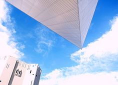 Two of the Denver Art Museum Buildings-Libeskind and Ponti