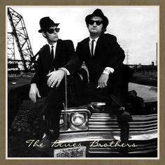 The Blues Brothers (John Belushi & Dan Aykroyd)