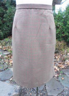 Flawless Vintage Pendelton Skirt Classic by Tastecannotbetaught, $25.00