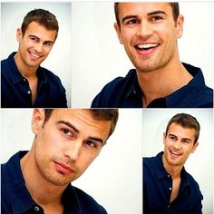 Theo James ..........im just speechless and how amazingly gorgeous he is.