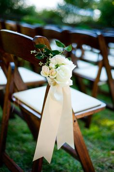 Looking for a pretty way to decorate your aisle? Get inspired by these 30 gorgeous pew ends!