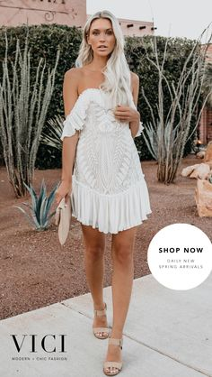 Spring Dresses and beachwear Cute Wedding Dress, Wedding Party Dresses, Wedding Outfits, Bridal Dresses, Beach Wedding Outfit Guest, Simple Dresses, Casual Dresses, Denim Dresses, Maxi Dresses