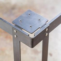 Kindred Series Bar Table Legs - Bold MFG's Kindred Table Base Series allows you to easily configure your own custom steel table base to use with any table top you'd like. This table base system is per