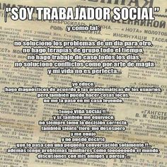 Soy Trabajadora Social Future Career, Social Work, Quotes, Socialism, Group Counseling, Cool Quotes, Affirmations, Thoughts, Qoutes