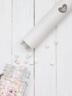 DIY-Anleitung: Knallbonbons für den Valentinstag selber machen via DaWanda.com
