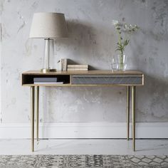 our versatile Toshi Console/Desk is a really flexible piece of furniture that could be used in a home office or teen's room for study; as well as in the living area, dining room or open-plan space for catching up on correspondence and paperwork. Unique Furniture, Table Furniture, Home Furniture, Furniture Design, Handmade Furniture, Table Desk, Console Tables, Entryway Tables, Bedroom Decor