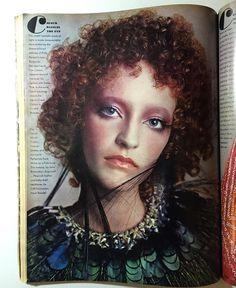La beauté d'un faune #LouloudelaFalaise by #Avedon - #Vogue october 1st 1970 from my collection. Make up by #JohnRichardson.  #richardavedon #loulou #vintage #vintagevogue #americanvogue #voguemagazine #dianavreeland #vintagefashion #vintagebeauty #beauty #makeup #maquillage #makeupartist #hippie #ginger #redhair #gingergirl #feathers #70s #fashionhistory  #ysl #chic #style #preraphaelite #biba #dantegabrielrossetti @dvdianavreeland @voguemagazine