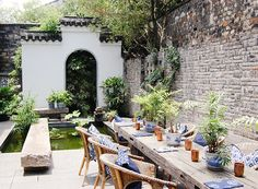 15 Envy-Inducing Private Outdoor Spaces via @MyDomaine