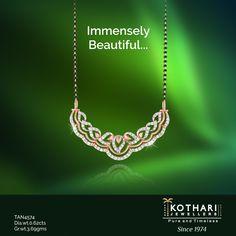 The symbol of eternal bond, built with forever diamonds. 💎  #Mangalsutra #RoseGold #PureAndTimeless