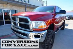 2010 Dodge Ram 2500 HD ST HEMI Crew Cab Lifted Truck