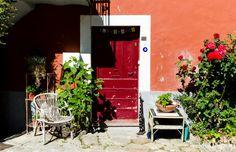Marais Salant, Facade, Loic, France, Nature, Pink Salon, Old Town, Winter Garden, Pathways