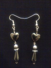 Handmade Jewellery - Earrings gift idea by Daniela Durgova found on MyOwnCreation: Elegant earrings made from amethyst and Swarovski pearls.