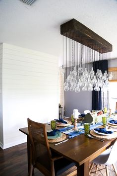 Gorgeous dining room before and after photos