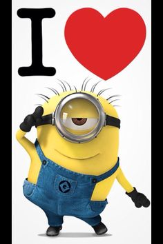 Despicable Me!!!! <3 Saw it today, so funny!