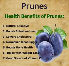 Health Benefits of Prunes cleanstronghealthy.com