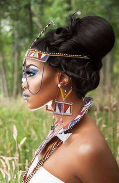 Tribal Elegance! Tribal Glory!