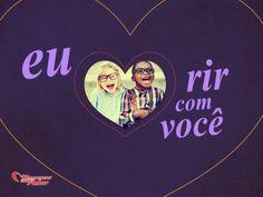 Eu amo rir com você, pois só do seu lado eu sou alegre. #amovc #euteamo #amor