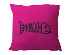 Almofada Espinha de Peixe Rosa