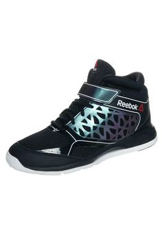 Reebok STUDIO CHOICE MID - Dansschoen - black/iridescent/white - Zalando.be